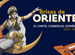 Orient Breezes. Spanish Commercial poster (1870-1970) in Melilla