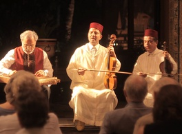 Poetry and song by Sufi mystics of Al-Andalus in the Moroccan tradition