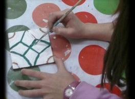 Workshops for Youths: Arab tiles
