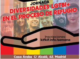 Day of events: LGTBI diversities in the asylum process