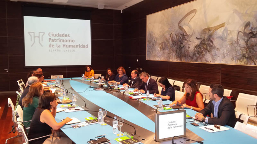 Meeting of Spain's World Heritage Cities