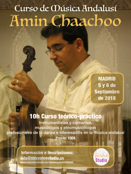 Course on the classical music of Al-Andalus in Madrid