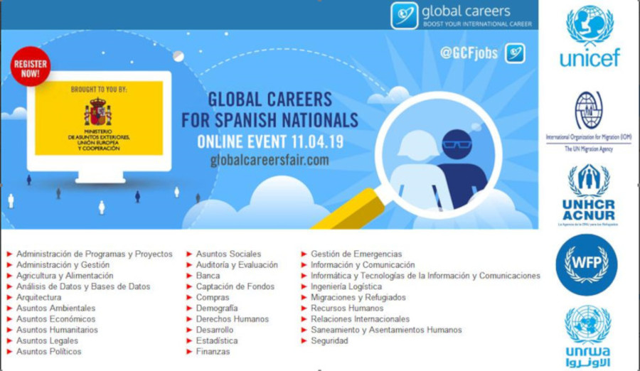 Job fair for Spanish professionals in international organizations