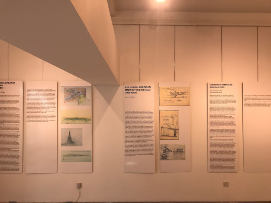 "The exhibition ""Mirage City: Baghdad, from Wright to Venturi"" has reached Baghdad"